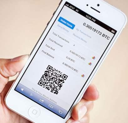 Ví bitcoin ứng dụng di động