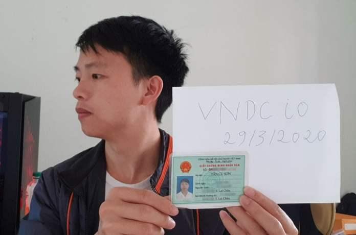 Xác minh danh tính VNDC