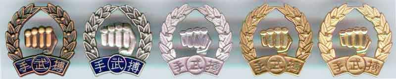 Official Moo Duk Kwan® pins