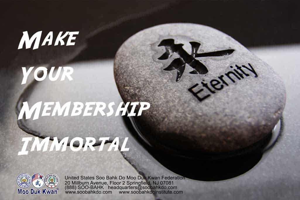 Make Your Membership Immortal