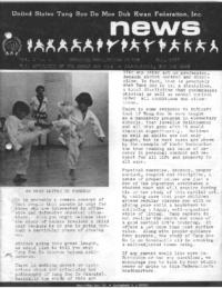 1977 05 Usa Moo Duk Kwan Federation Newsletter
