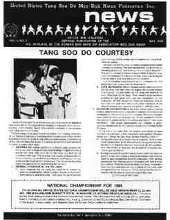 thumbnail of 1985 05 Usa Moo Duk Kwan Federation Newsletter