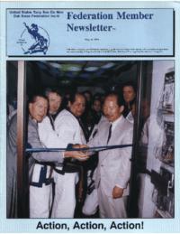 1994 08 Usa Moo Duk Kwan Federation Newsletter