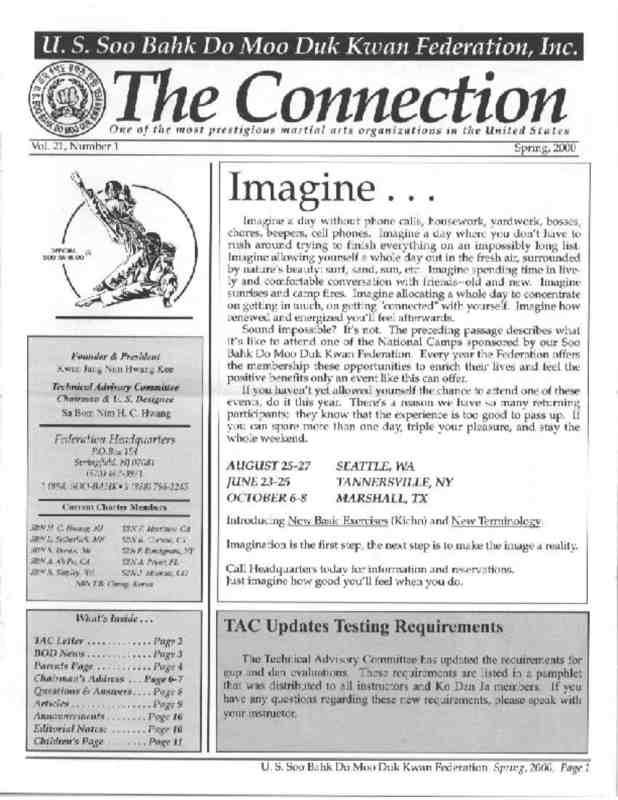 thumbnail of 2000 07 Usa Moo Duk Kwan Federation Newsletter