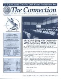 2001 04 Usa Moo Duk Kwan Federation Newsletter
