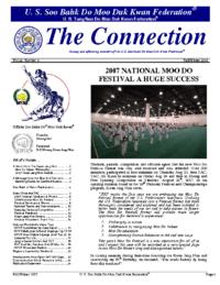 2007 12 01 Usa Moo Duk Kwan Federation Newsletter