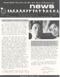 1976 05 Usa Moo Duk Kwan Federation Newsletter