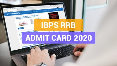 IBPS RRB Admit card download