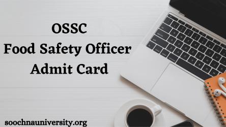 odisha fso admit card