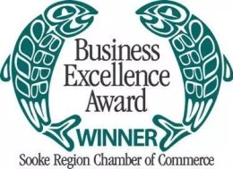 Sooke Chamber of Commerce Business Excellence Award Winner