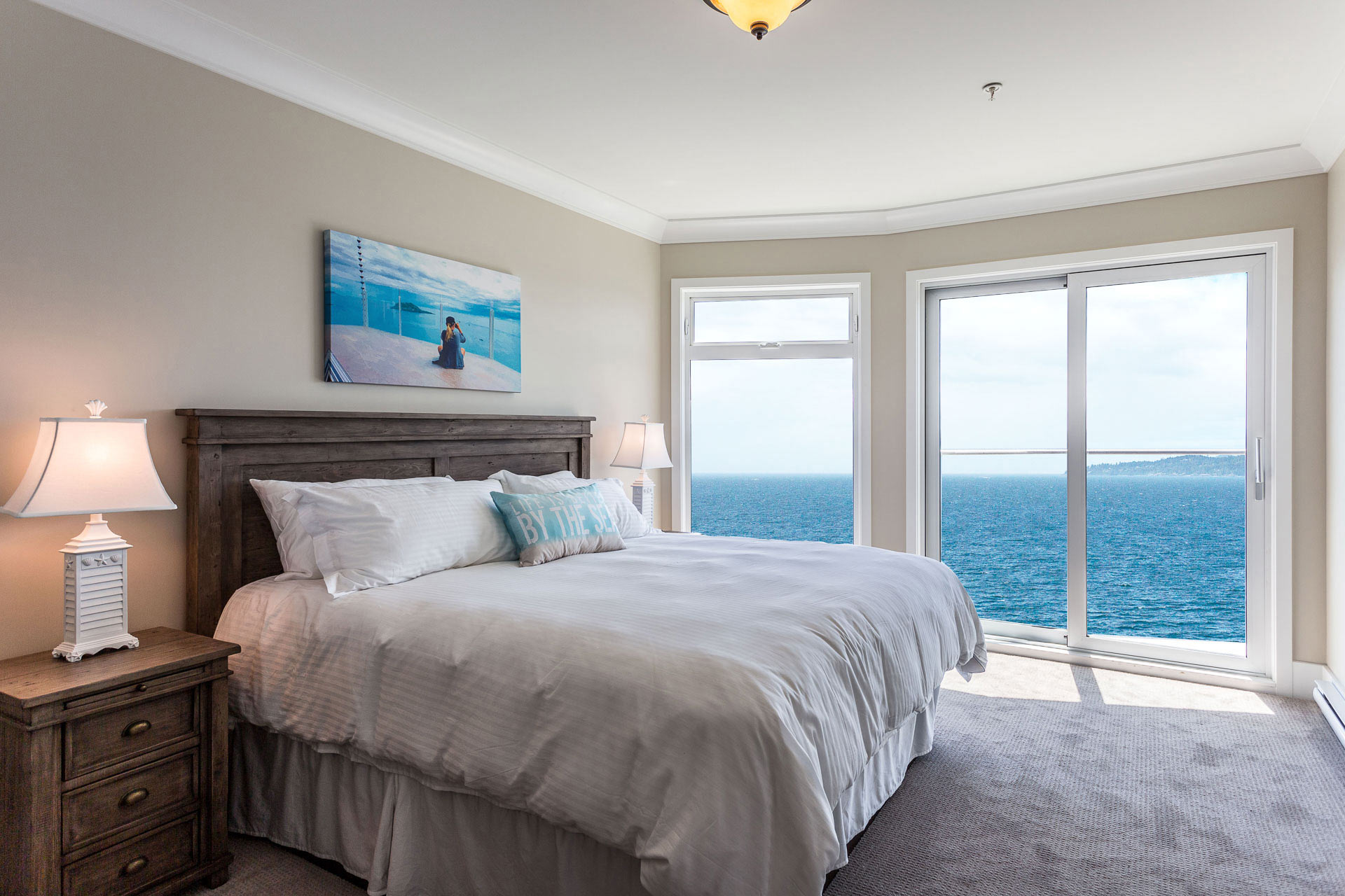 sooke point ocean cottage resort accommodations 2 bedroom plus den