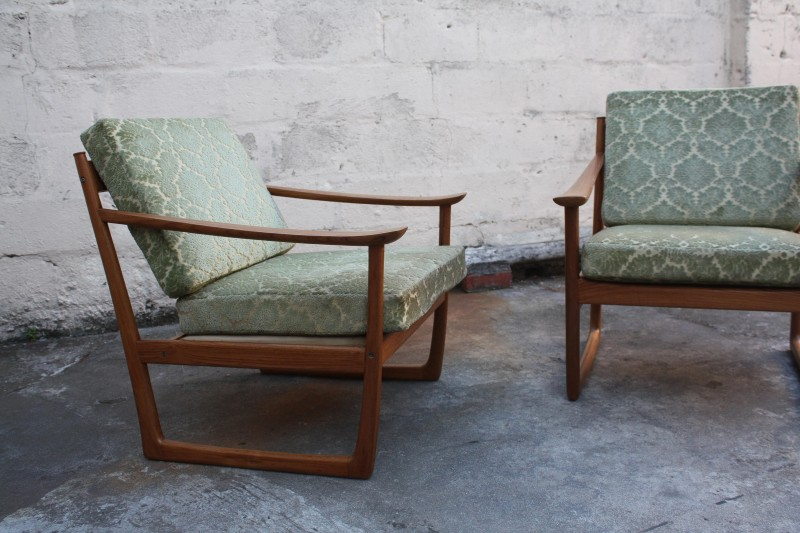 1960s sleigh chairs