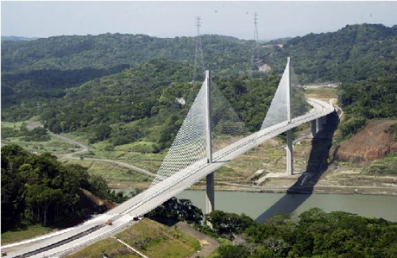 The Centennial Bridge in Panama