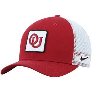 Oklahoma Sooners Nike Classic 99 Alternate Logo Trucker Adjustable Snapback Hat - Crimson