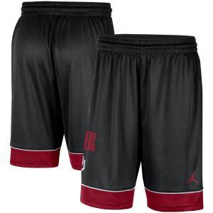 Oklahoma Sooners Jordan Brand Fast Break Shorts - Black