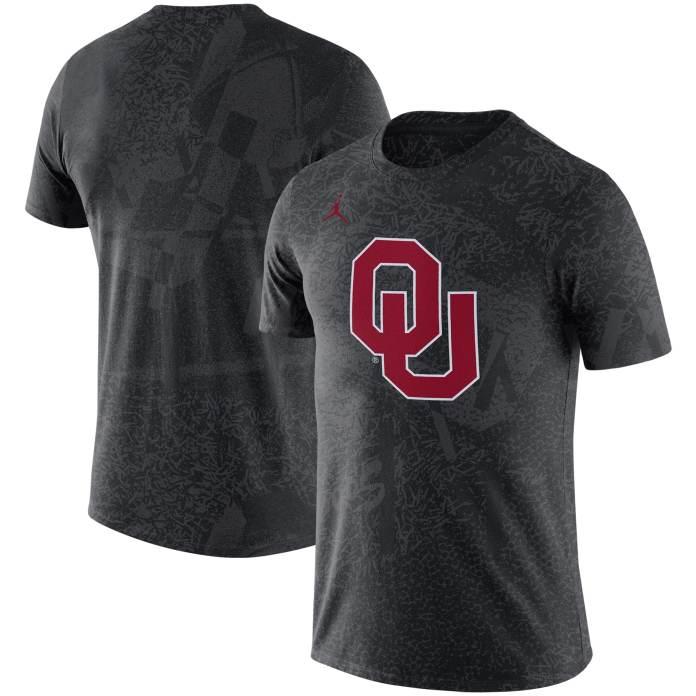 Oklahoma Sooners Jordan Brand Practice Performance T-Shirt - Black