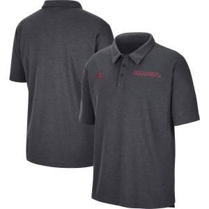 Oklahoma Sooners Jordan Brand Team Performance Polo - Anthracite