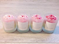 Floral soy candles by Malee by Nature; image copyright Malee by Nature