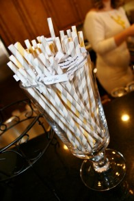 BHLDN straws, it's all in the details