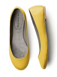 Simple Satin Ballet Flat $29.50 http://bit.ly/12at4H8