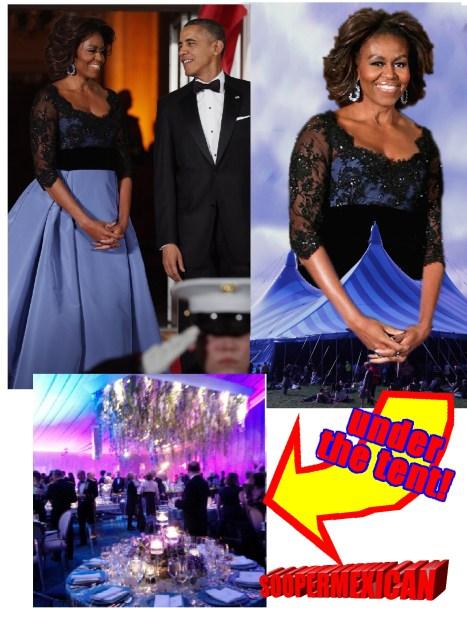 michelle-obama-tent