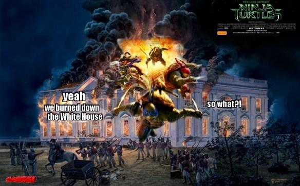 TMNT-white house