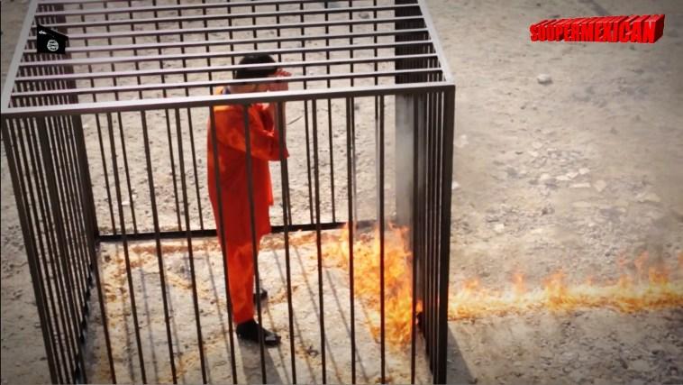 Isis burn alive 09