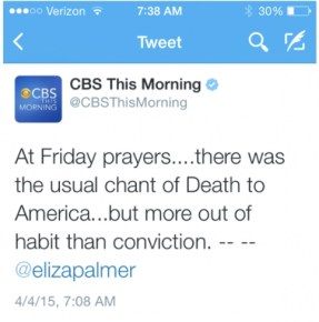 cbs this morning death to america