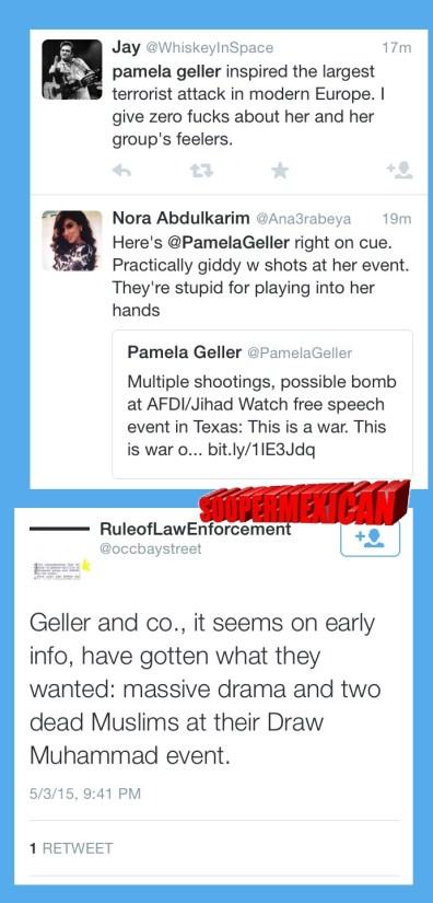 Garland tweets muslims blank big 04
