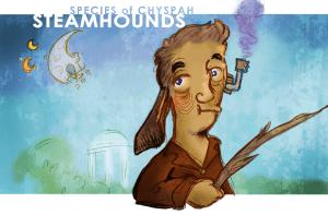 Ray Freisen's Steamhound Illustration
