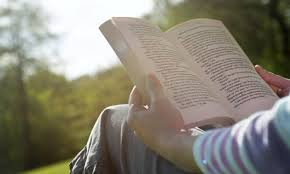reading-book-outside