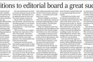 #WednesdaysareforWriters: Citizen Rep to Post Star Editorial Board