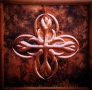 Copper panel Art by Sooriya Kumar