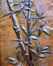Copper Bamboo Panel