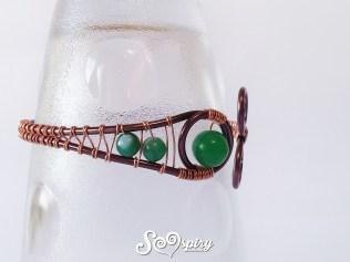upper arm bracelet, copper bracelet, cuff bracelet5