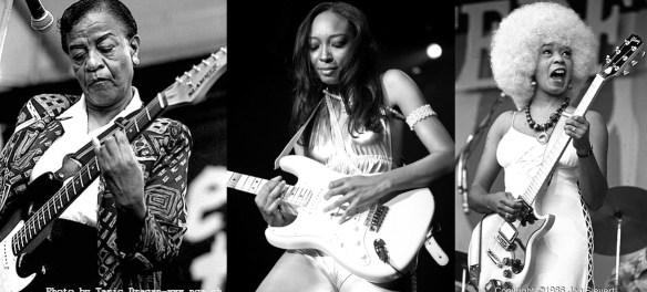 Mulheres Negras no Rock Guitarristas - Lady Bo