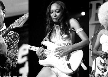 Mulheres negras no rock - Guitarristas