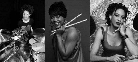 Mulheres Negras bateristas