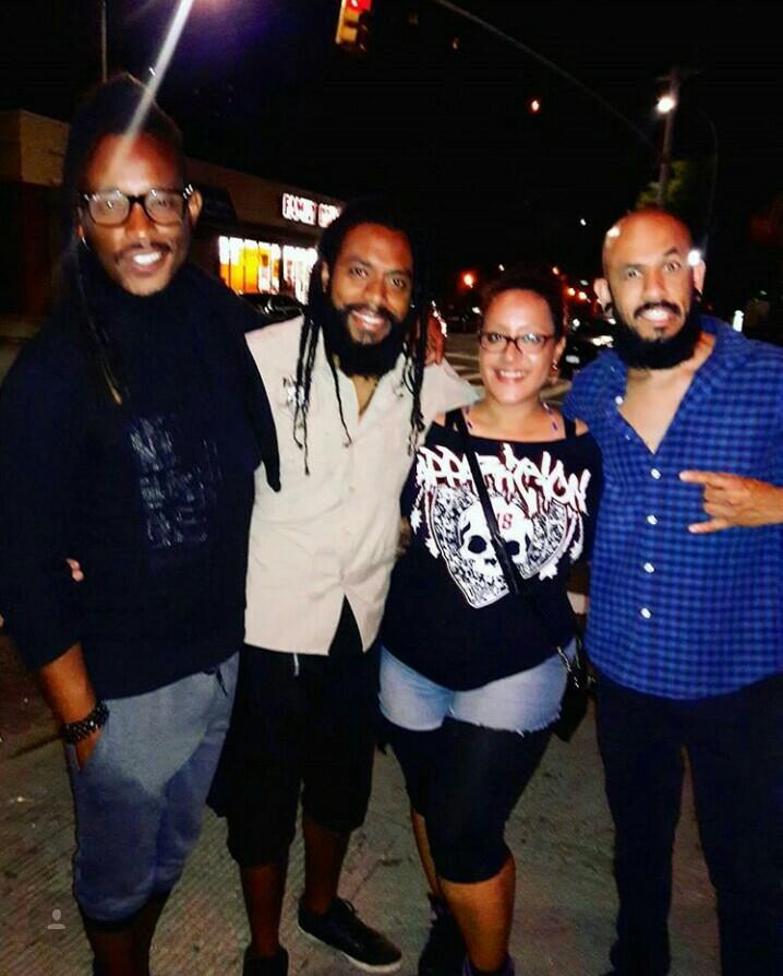 Flora Lucini e o Power Trio do Black Pantera.