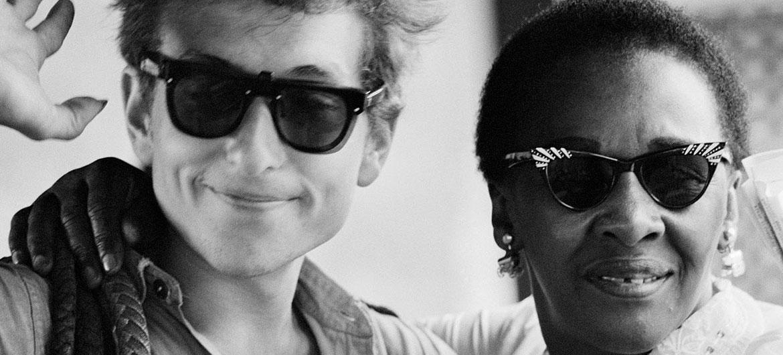 Bob Dylan e Victoria Spivey