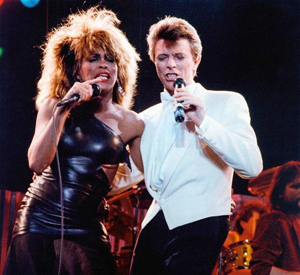 Tina Turner e David Bowie