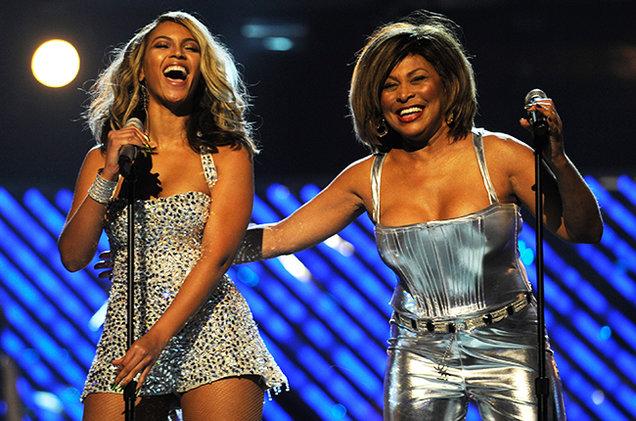 Tina Turner e Beyoncé