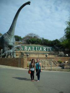 Chinee and I at Baluarte