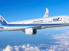 all nippon airways perth to tokyo flights