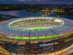 Optus Stadium voted world's best