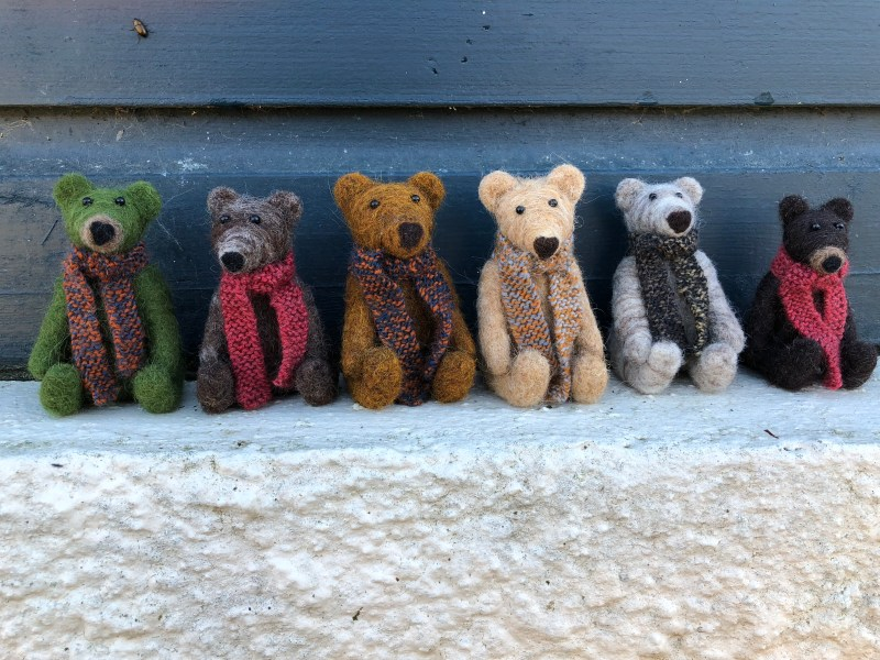 Teds in a row