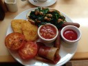Vegan English Breakfast at VBites Brighton