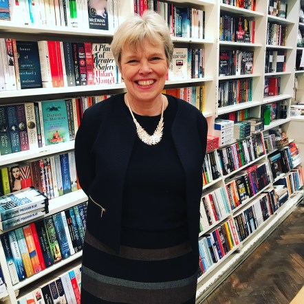 Hazel Broadfoot, owner of the wonderful Village Books