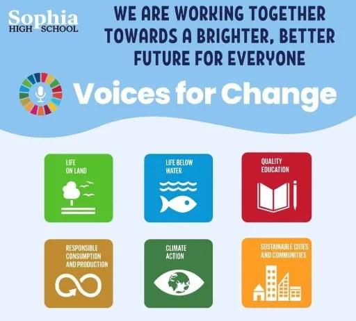 Sophia High School Global Goals