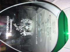 The Mayors award